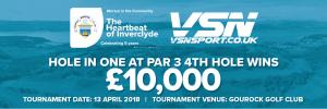 Golf Event 10k Banner