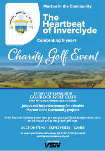 Morton in the Community 5th Birthday Charity Golf Event